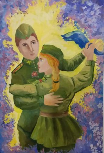 Вальс Победы, Макарова Дарья, 10 лет